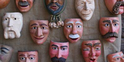Maschere tradizionali in legno